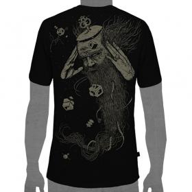 """T-shirt \\\""""nexus\\\"""", noir"""