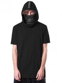 "T-shirt \""Ninja\"", Noir"