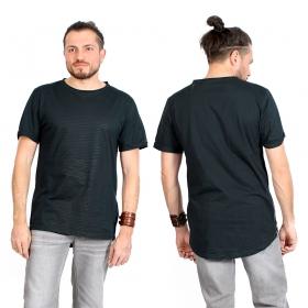 """T-shirt \""""Noah\"""", Bleu pétrole et noir"""