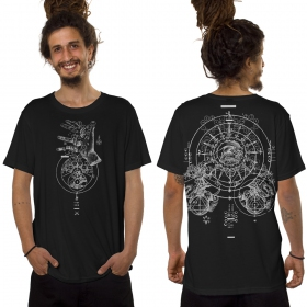 """T-shirt \""""Obscure\"""", Noir"""