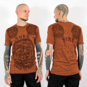 """T-shirt \""""Ohm\"""", Orange"""