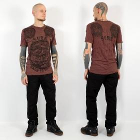 """T-shirt \""""Ohm\"""", Rouge foncé"""