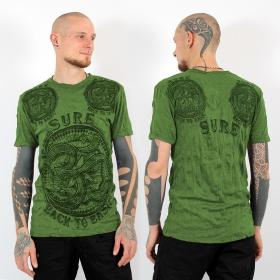 "T-shirt \\\""Ohm\\\"", Vert"