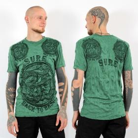 """T-shirt \""""Ohm\"""", Vert menthe"""