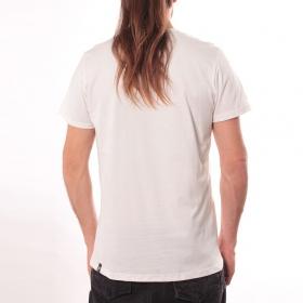 "T-shirt \""Panda\"", Blanc"
