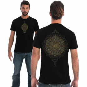 "T-shirt ""Peyote\"", Noir"