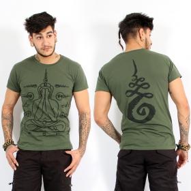 """T-shirt \\\""""Phra-pid-ta\\\"""", Kaki"""