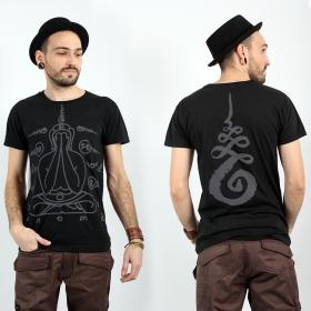 "T-shirt \""Phra-pid-ta\"", Noir"