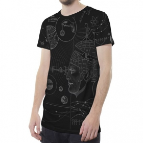 "T-shirt \""Phreno\"", Noir"