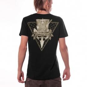 """T-shirt \""""Pirate\"""", Noir"""