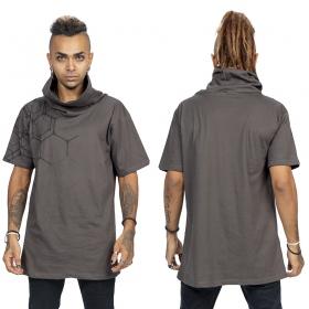 """T-shirt \""""Pollux\"""", Gris et noir"""