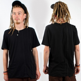 """T-shirt  psylo \\\""""serial tee\\\"""",  noir"""