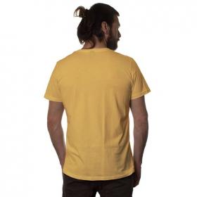 """T-shirt \""""Queen B\"""", Moutarde"""
