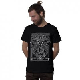 """T-shirt \""""Queen B\"""", Noir"""