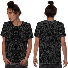 """T-shirt \""""Rabbit\"""", Gris foncé"""