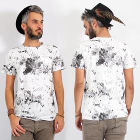 "T-shirt \\\""Raiwin\\\"", Blanc"