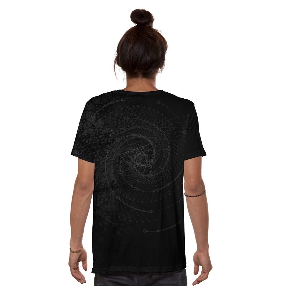 "T-shirt \""RS20\"", Noir"