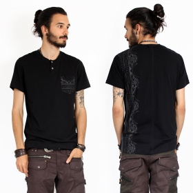 """T-shirt \""""Runes\"""", Noir"""