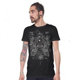 """T-shirt \\\""""Savitar\\\"""", Gris chiné"""