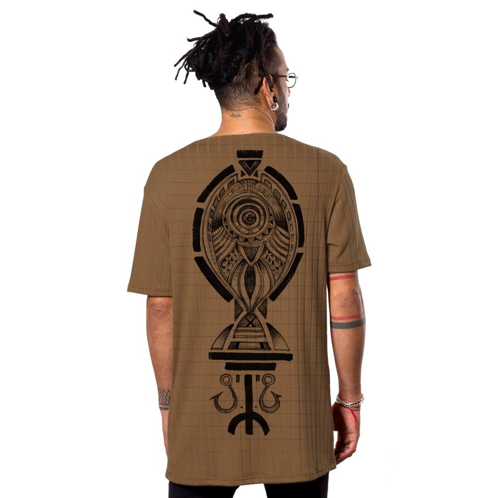 "T-shirt \""Scalebook\"", Moka"