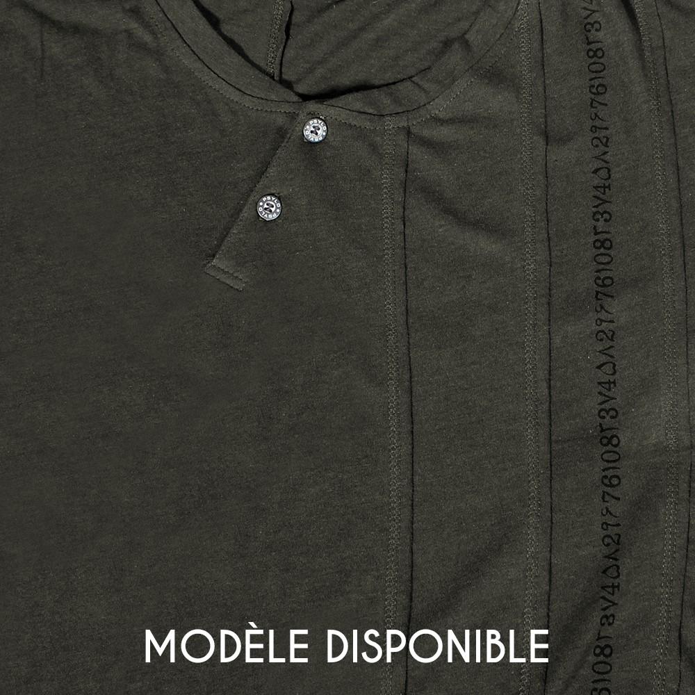 """T-shirt """"Serial"""", Kaki"""