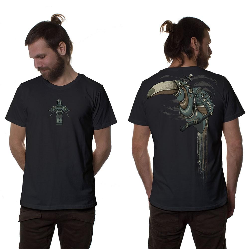 "T-shirt \""Shlooky\"", Gris foncé"