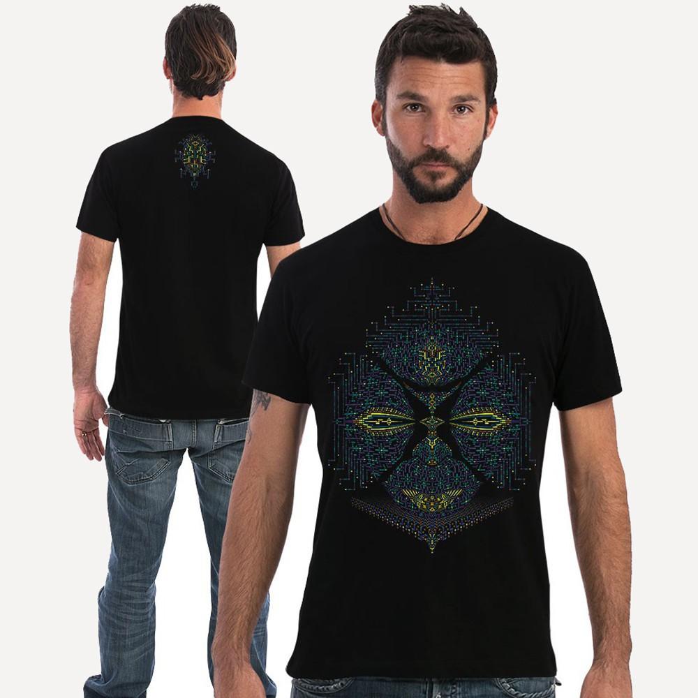 """T-shirt \""""Sikuli\"""", Noir"""