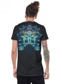 "T-shirt \""Sita Kamala\"", Gris foncé chiné"