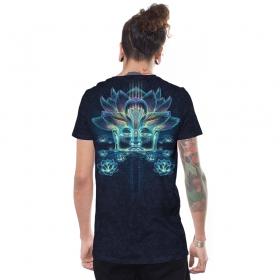 "T-shirt \""Sita Kamala\"", Noir galaxie"