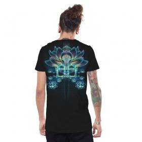 "T-shirt \""Sita Kamala\"", Noir"
