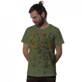 """T-shirt \""""Springbox\"""", Kaki"""