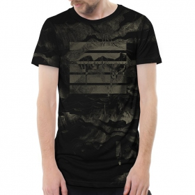 "T-shirt \""Stone Island\"", Noir"
