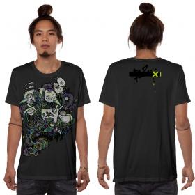 """T-shirt \""""Switcher\"""", Gris foncé"""