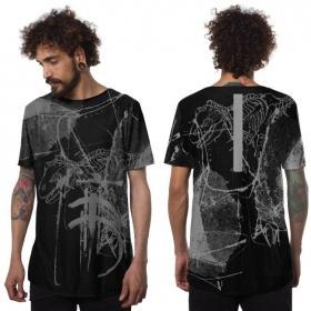 """T-shirt \""""T-Rex\"""", Noir"""