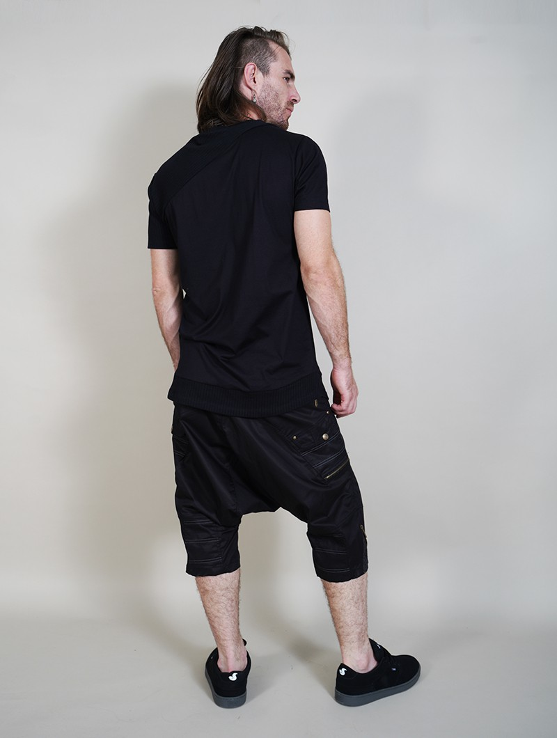 "T-shirt \""Tenere\"", Noir"