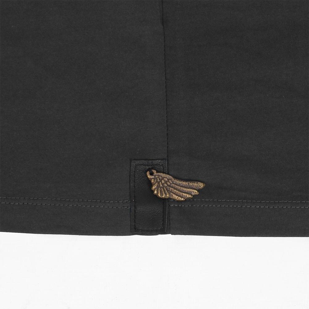 """T-shirt \""""Tierra Pollux\"""", Noir"""