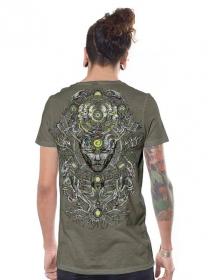 """T-shirt \""""Tree Spirit\"""", Stone"""