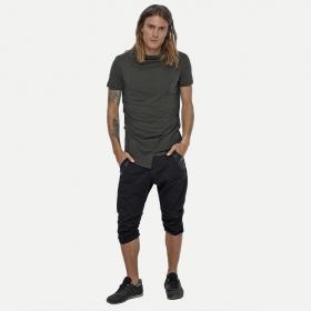 """T-shirt \""""Tulle\"""", Vert kaki"""