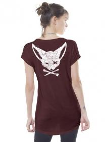 "T-shirt \""Twizy\"", Bordeaux"