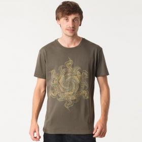 """T-shirt \""""Vortex\"""", Olive"""