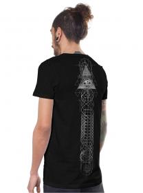 """T-shirt \""""Wayfarer\"""", Noir"""