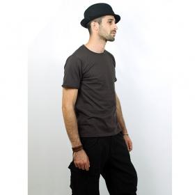 "T-shirt \\\""woonwai\\\"", gris charbon"