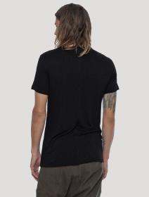 """T-shirt \""""Zentangle\"""", Noir"""