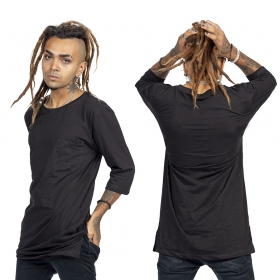 """T-shirt \""""Zeus\"""", Noir et or"""