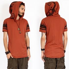 """T-shirt \""""Zikit\"""", Brique"""