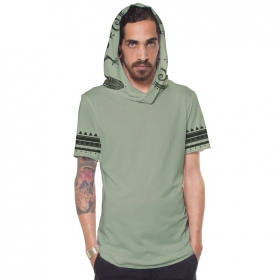 "T-shirt \""Zikit\"", Vert clair"