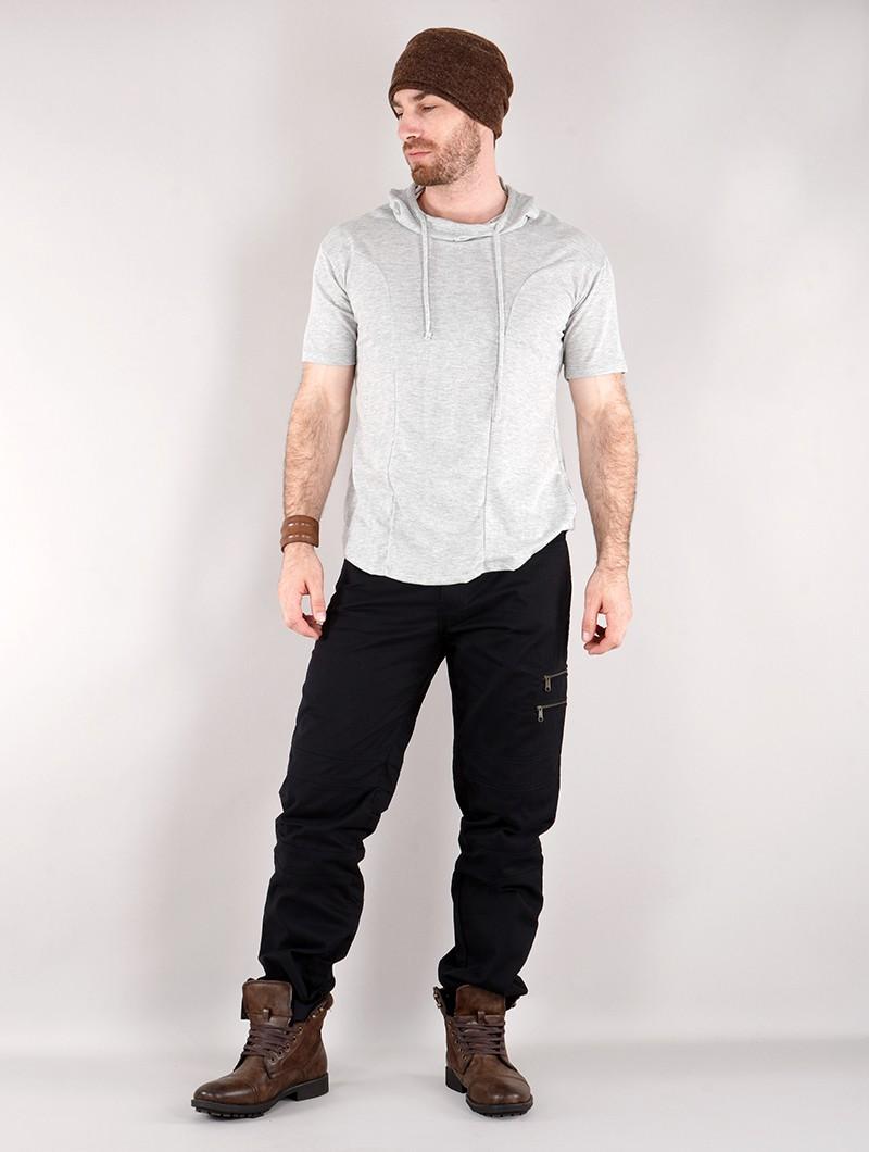 """T-shirt à capuche \""""Aldaron\"""", Gris"""