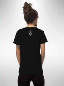 """T-shirt à manches courtes imprimé \""""Edicaro\"""", Noir"""
