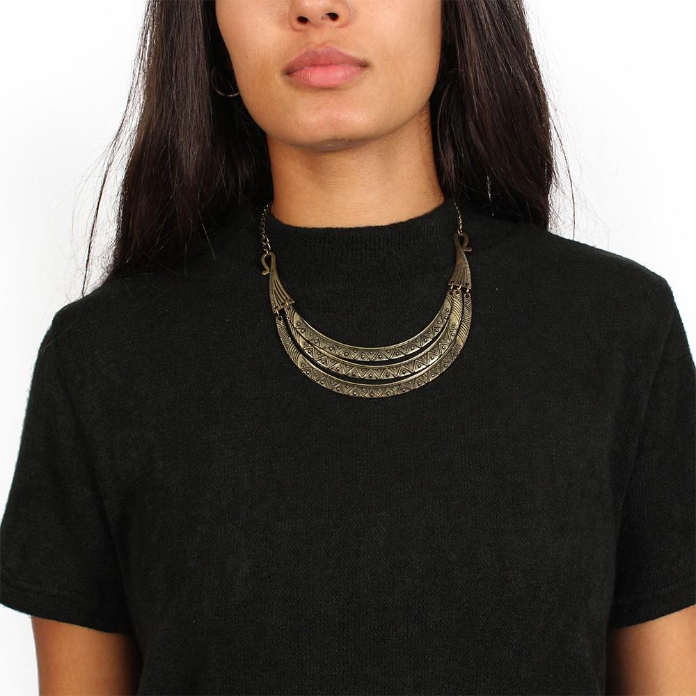 """T-shirt asymétrique \""""Doli\"""", Noir"""