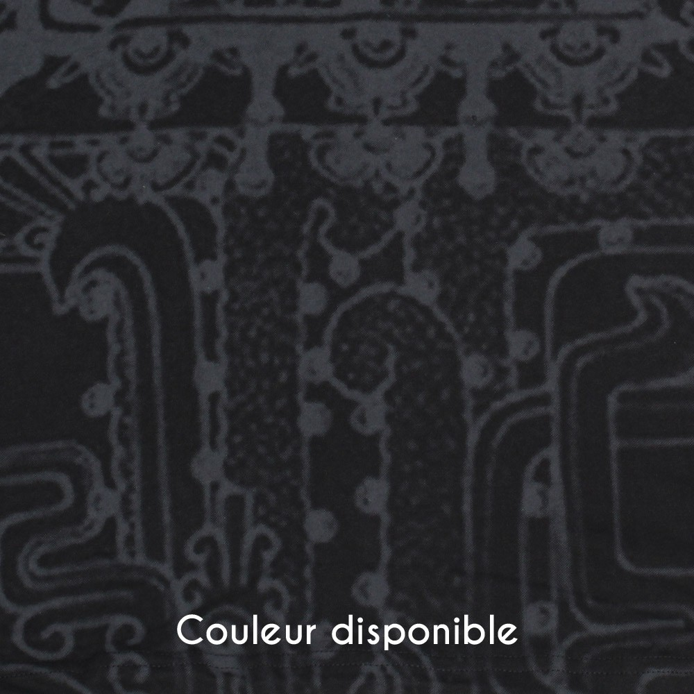 "T-shirt capuche ""Playa"", Noir"